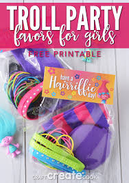 inexpensive party favors craft create cook troll party favors for craft create cook