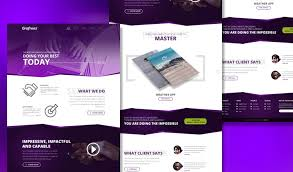 single page brochure templates psd empire single page template psd for creative agencies grafreez