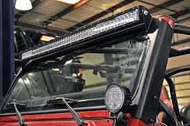 country jeep tj windshield led light bar mounts unfinished