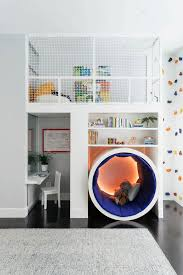 cool room ideas this colorful kids room has a climbing rock wall playground kids