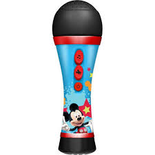 Minnie Mouse Night Stand by Karaoke Microphone For Kids Toys