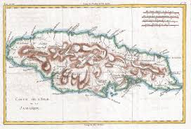 Map Of West Indies File 1780 Raynal And Bonne Map Of Jamaica West Indies