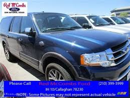 ford expedition interior 2016 2016 blue jeans metallic ford expedition el king ranch 112058682