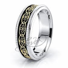 celtic wedding rings arian floral celtic band comfort fit 6mm