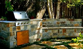 backyard bbq designs landscape contemporary with small space