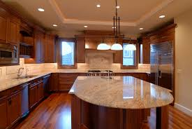 backsplash for kitchen countertops blue pearl ladys dream marble countertops mosaic backsplash wood