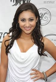 women curly haircuts for latina francia raisa hairstyle long brunette hair in a latina style