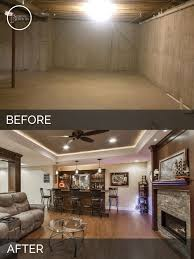brian u0026 kelli u0027s basement before u0026 after pictures basement