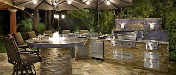 outdoor kitchen backsplash fascinating las vegas outdoor kitchen with blue porcelain tile for