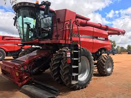caseih 8230 and macdon d65 45 u0027boekeman machinery