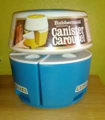 rubbermaid wrap n craft reserved colorful retro rubbermaid lazy susan plastic canister