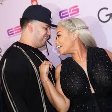 rob kardashian and blac chyna u0027s relationship timeline popsugar