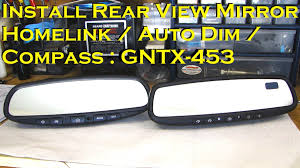 nissan 370z wiring diagram install rearview mirror with homelink autodim compass for