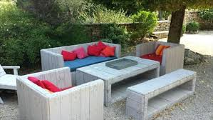 how to make patio furniture out of pallets how to make outdoor