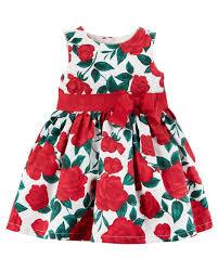 floral dress carters