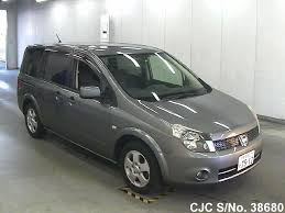 2005 nissan lafesta gray for sale stock no 38680 japanese