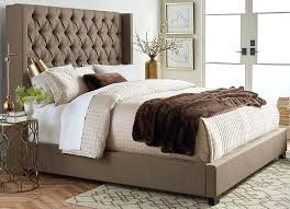 upholstered bedroom set picture of westerly brown queen