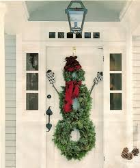Unique Christmas Decorating Ideas 10 Unique Christmas Front Door Decorations Ideas