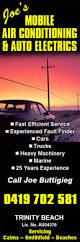 joe u0027s mobile air conditioning u0026 auto electrics car air