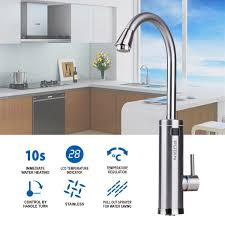 pudin 220v electric instant heater tap supply and cold water