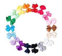 baby hair bows ema grosgrain baby hair bow headbands