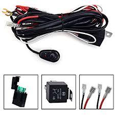 amazon com nilight led light bar wiring harness kit 12v on off