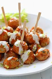 buffalo chicken meatballs skinnytaste