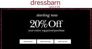dressbarn com coupon code hair coloring coupons