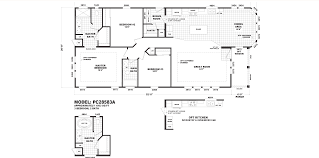 residential manufactured home and modular home floor plans