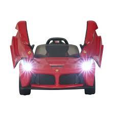 ferrari prototype cars amazon com aosom 12v ferrari laferrari kids electric ride on car