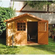abri jardin bambou abri de jardin en bois 6 75 m ep 28 mm flodova plantes et jardins