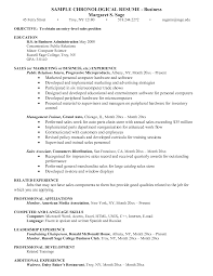 Resume Sample Business Administration by Chic Ideas Business Administration Resume 3 How To Write A