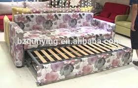 folding sofa bed frame super strong and stable metal structure slat base folding sofa bed