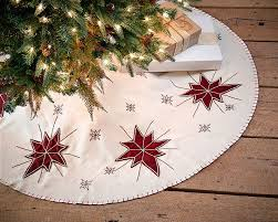 Peppermint Twist Tree Skirt Using 48 Tree Skirt Embroidered Wine