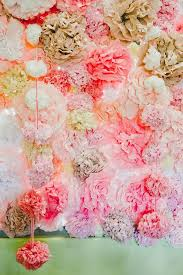 wedding backdrop paper flowers 35 creative paper flower wedding ideas deer pearl flowers