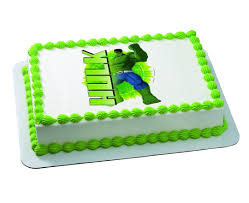 25 ways to make a great incredible hulk birthday cake