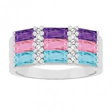 stackable birthstone rings fashion rings infinity stackable more