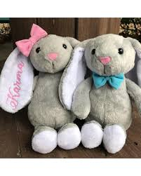 personalized bunny easter basket spectacular deal on personalized bunny easter gift kids easter