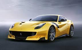 ferrari sport car wallpaper ferrari f12 tdf yellow sport car cars u0026 bikes 7334