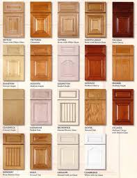kitchen cabinet design names options in kitchen cabinets doors