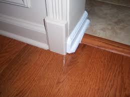 Laminate Floor Trim with Laminate Floor Molding Transition