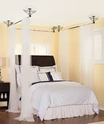 Curtain From Ceiling Hanging Curtain Bed Decorate The House With Beautiful Curtains