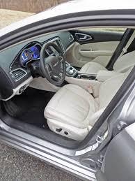 2015 Chrysler 200 Interior 2015 Chrysler 200 Sedan Test Drive U2013 Our Auto Expert