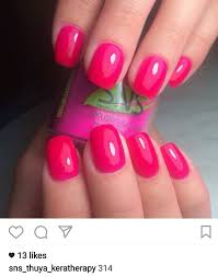 beautiful pink acrylic nails 5 double team dynamicpunch