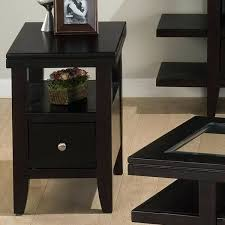 Chair Side End Table Side Table Default Name Chairside End Table With Drawers Black