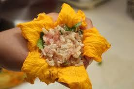 cuisine potiron fleurs de courgette et de potiron farcies la cuisine à quatre mains