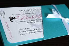create own boarding pass wedding invitations designs ideas