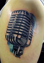 88 best microphone tattoo images on pinterest cartoons disney