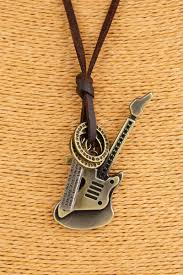 guitar necklace pendants images Fashion men jewelry accessories necklaces pendants genuine jpg
