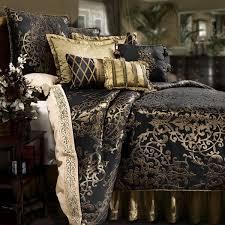 Luxury Bed Linen Sets Gold Comforter Set Black And Bedding Sets